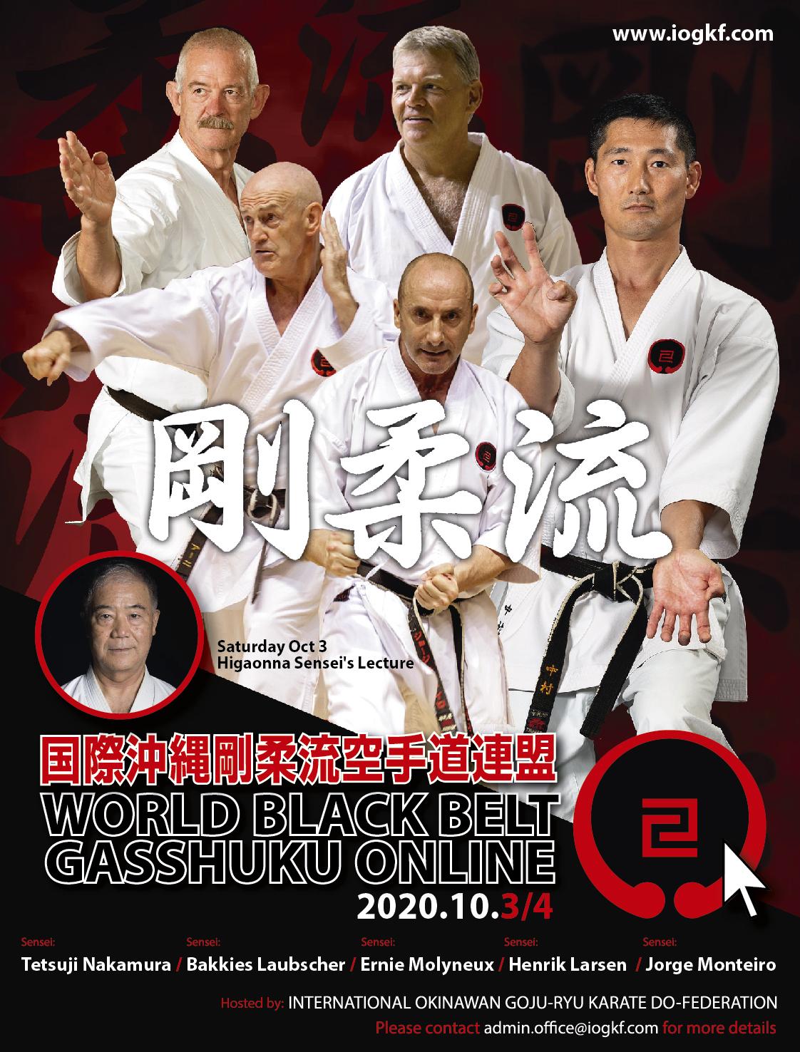 Online black belt gasshuku